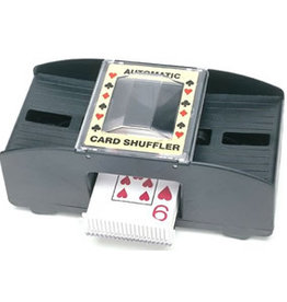 2-Deck Shuffler – Battery Operated (4x C-Batteries Not Included)