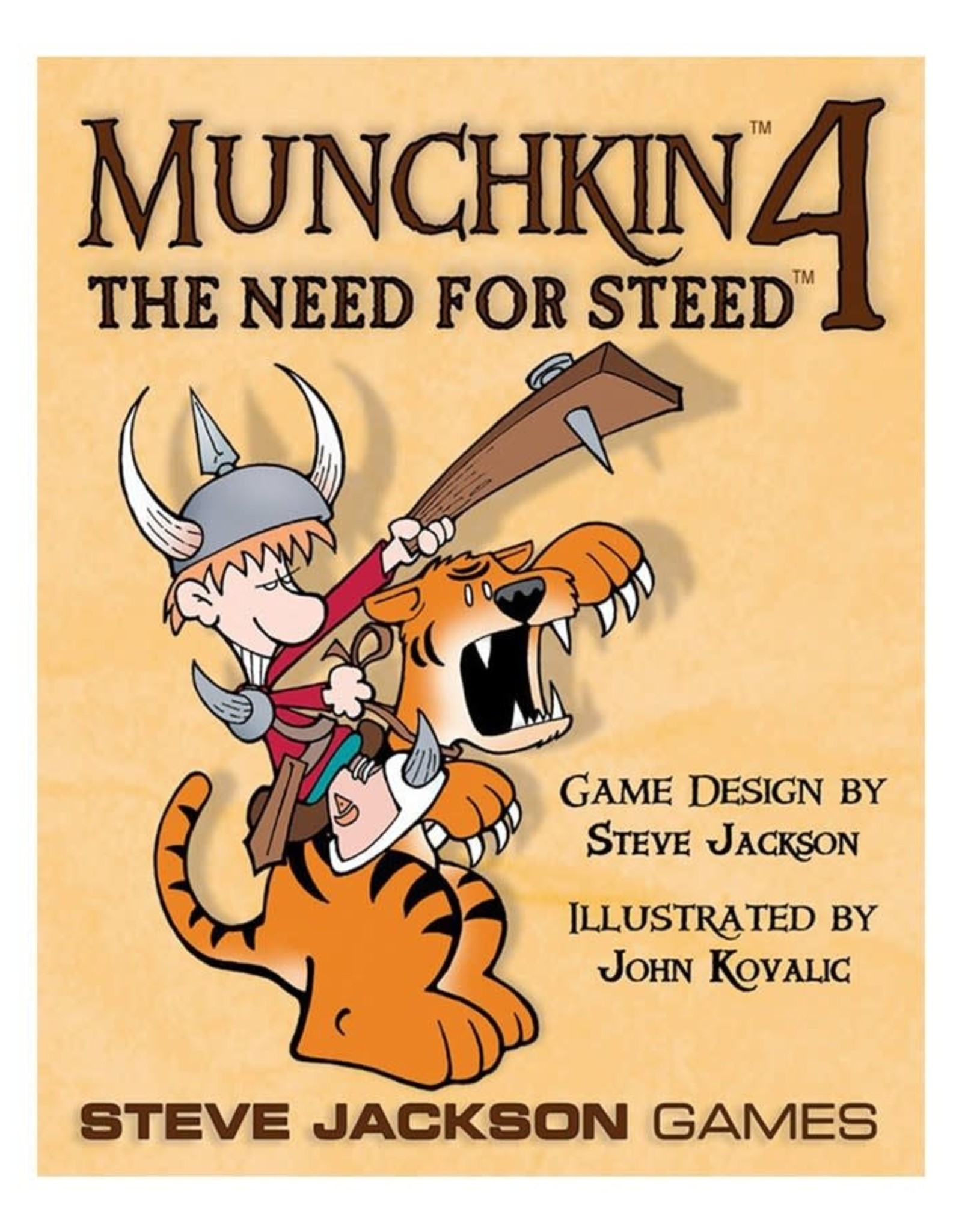 Steve Jackson Games Munchkin: Munchkin 4 - Need for Steed Expansion