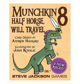 Steve Jackson Games Munchkin 8 - Half Horse, Will Travel Expansion