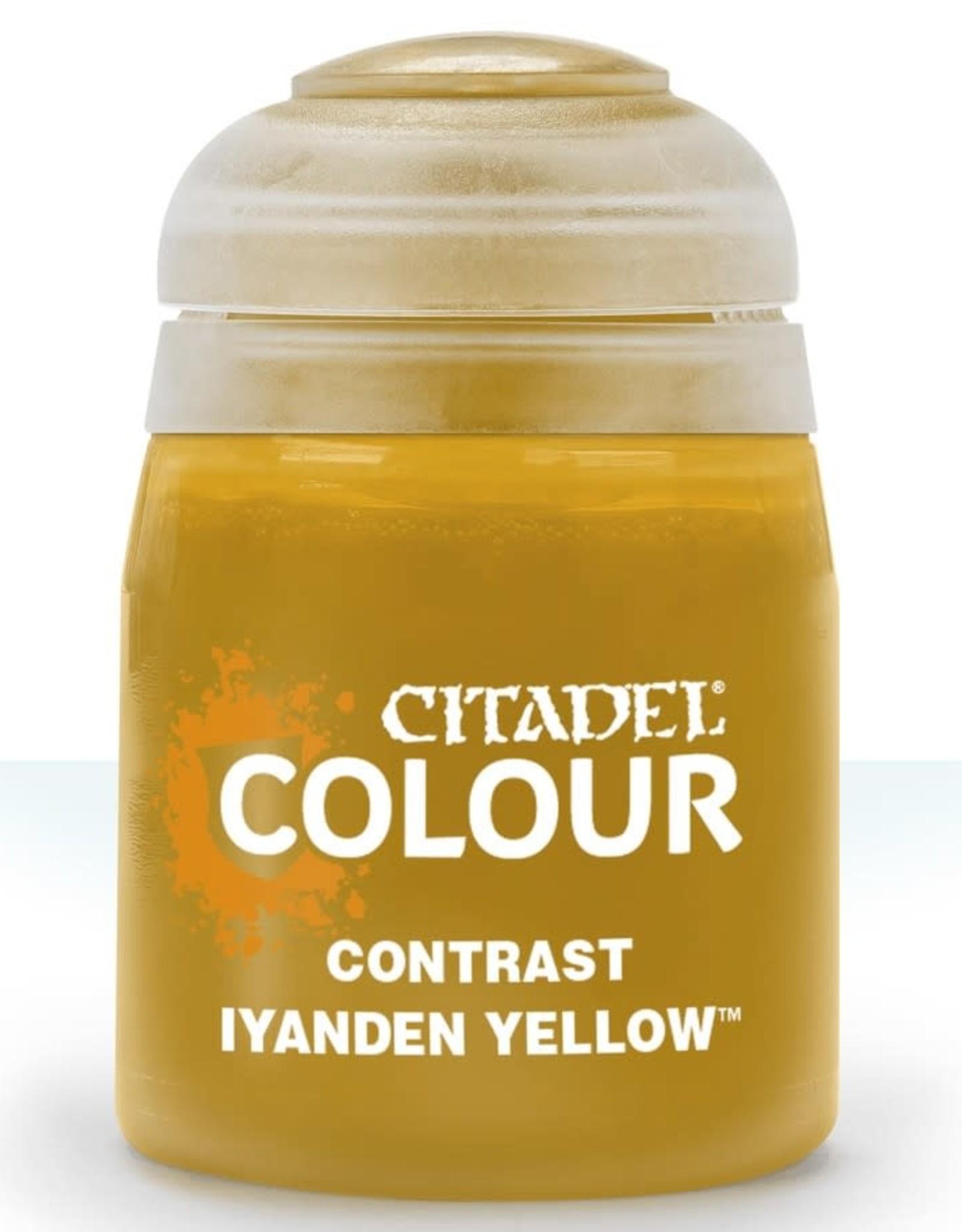 Citadel Contrast Paint: Iyanden Yellow