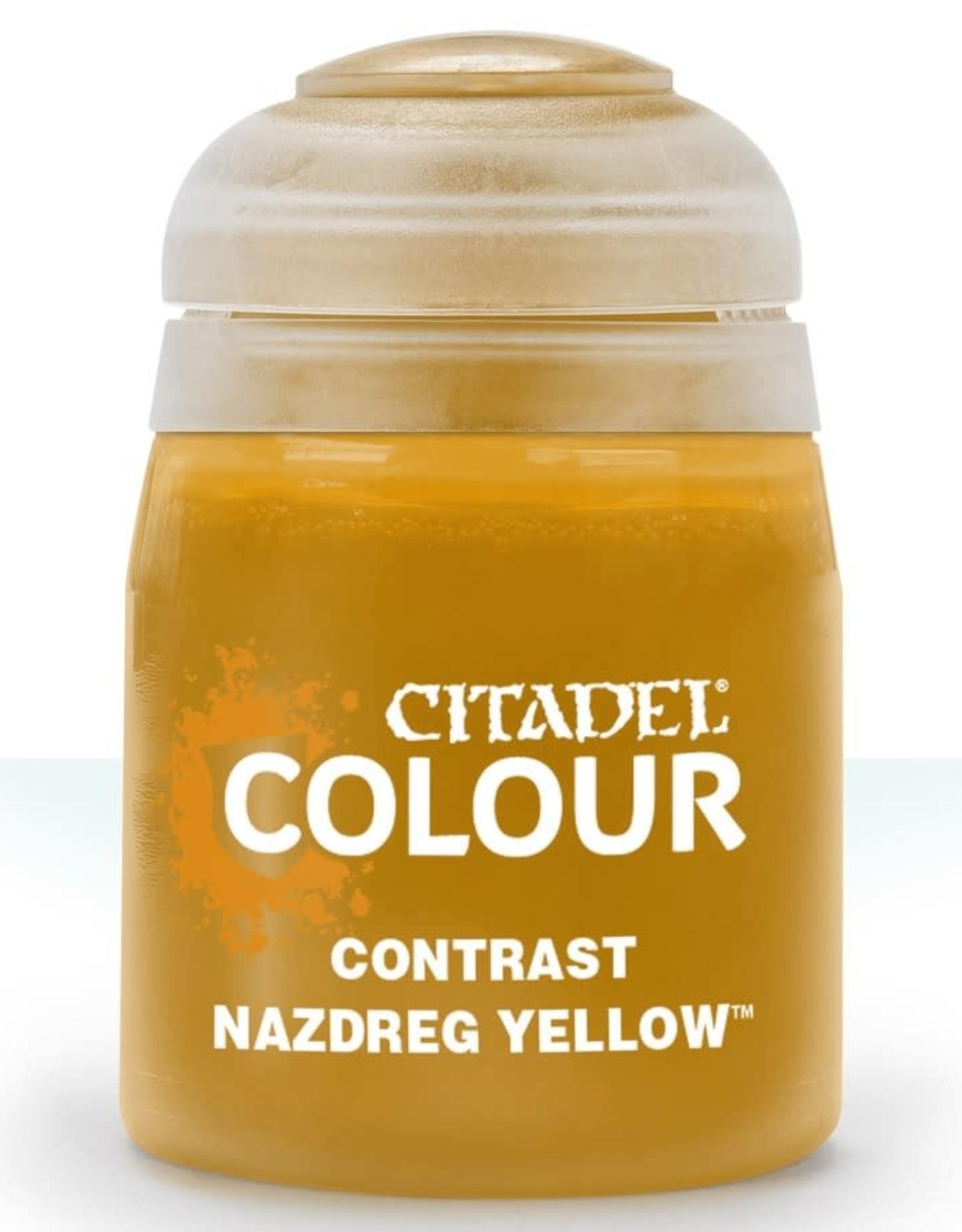 Citadel Contrast Paint: Nazdreg Yellow