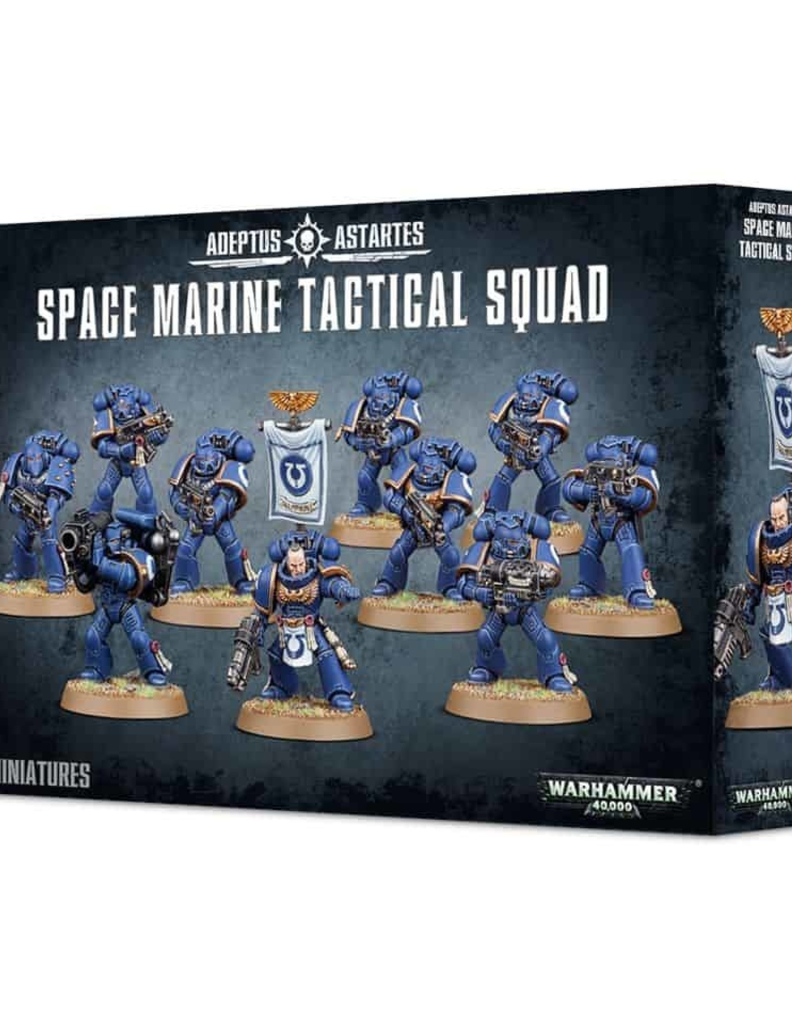 Games Workshop Warhammer 40K Adeptus Astartus Space Marine Tactical Squad