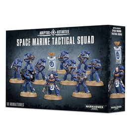 Games Workshop Warhammer 40K: Adeptus Astartus Space Marine Tactical Squad