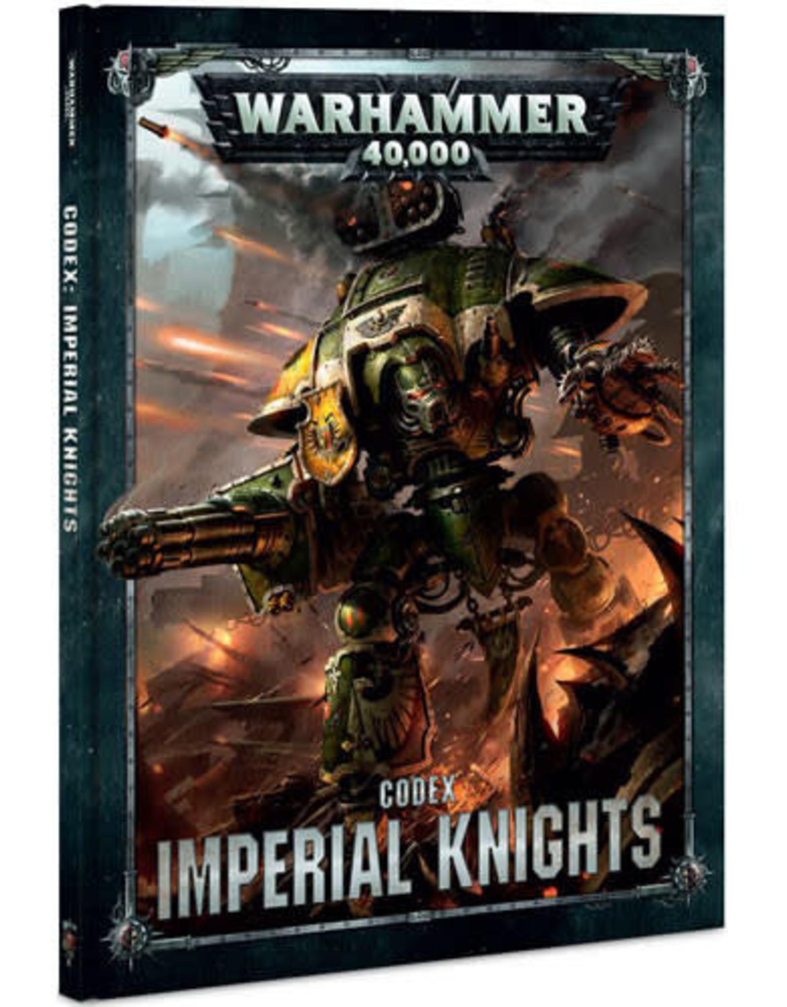 Games Workshop Warhammer 40K: Codex Imperial Knights