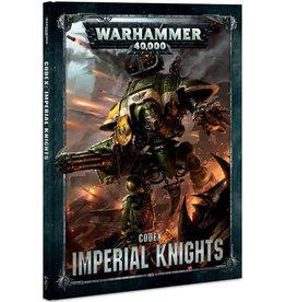 Games Workshop Warhammer 40K Codex Imperial Knights (8th Edition)