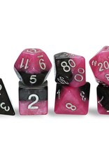 Gate Keeper Games Halfsies Dice: Glamour (7 Polyhedral Dice Set)