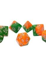 Gate Keeper Games Gatekeeper Dice Set: Great Pumpkin (7)
