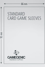 Matte Board Game Sleeves: Standard Card Game (50) (Gray)