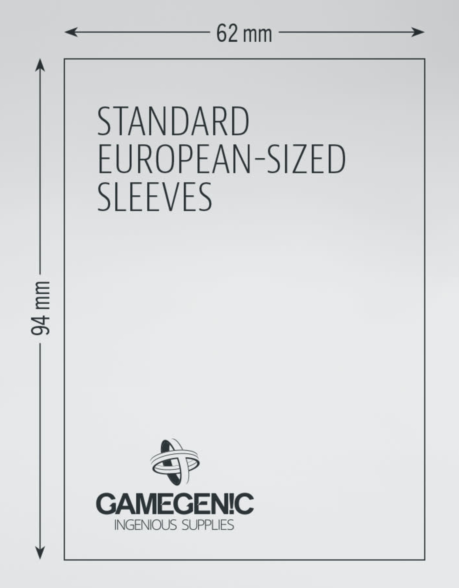 Matte Board Game Sleeves: Standard European (50) (Purple)