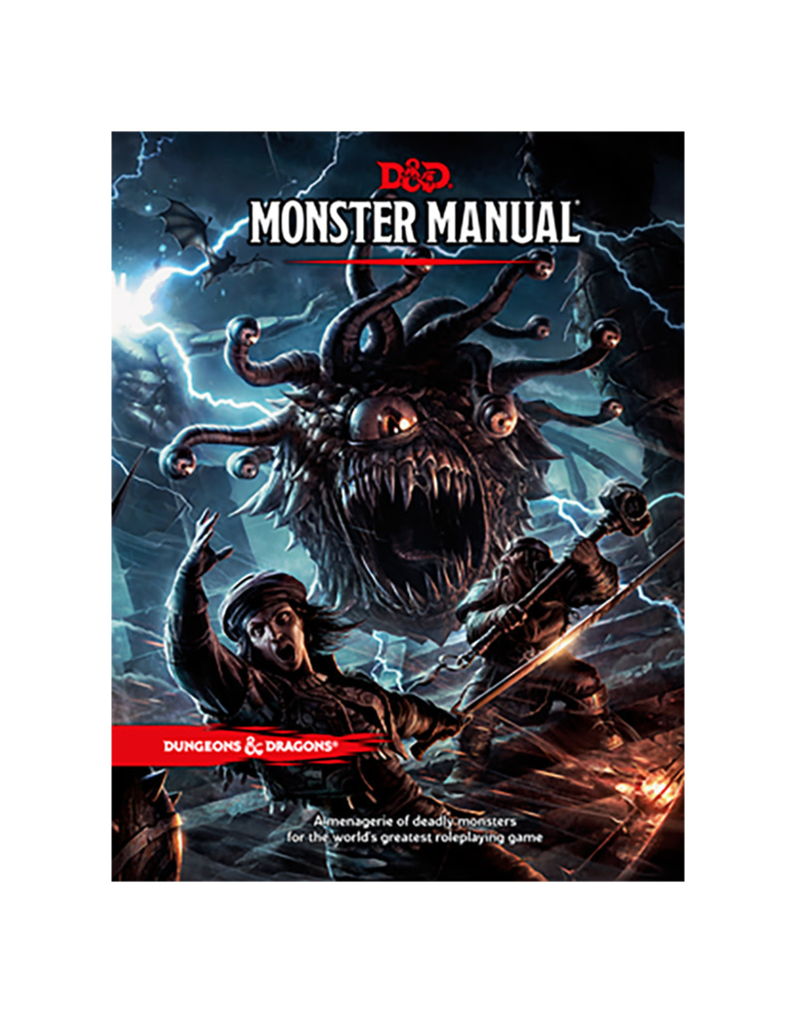 Wizards of the Coast D&D RPG: Monster Manual 5E (Core Rules)