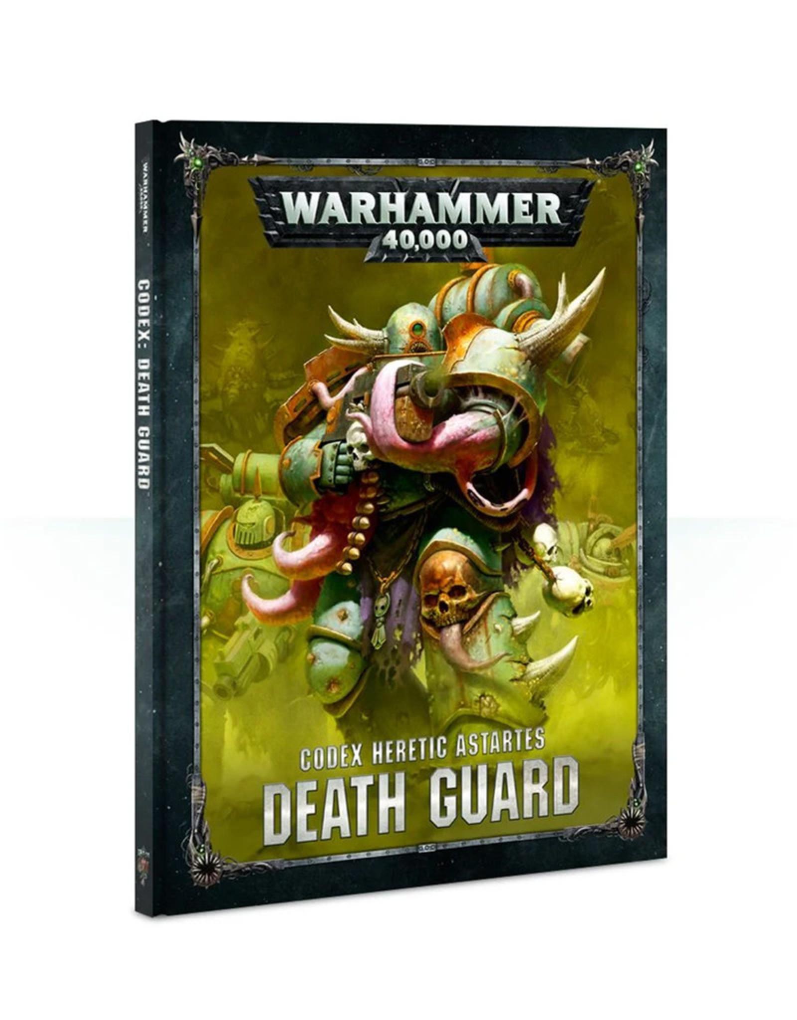 Games Workshop Warhammer 40K: Death Guard Codex