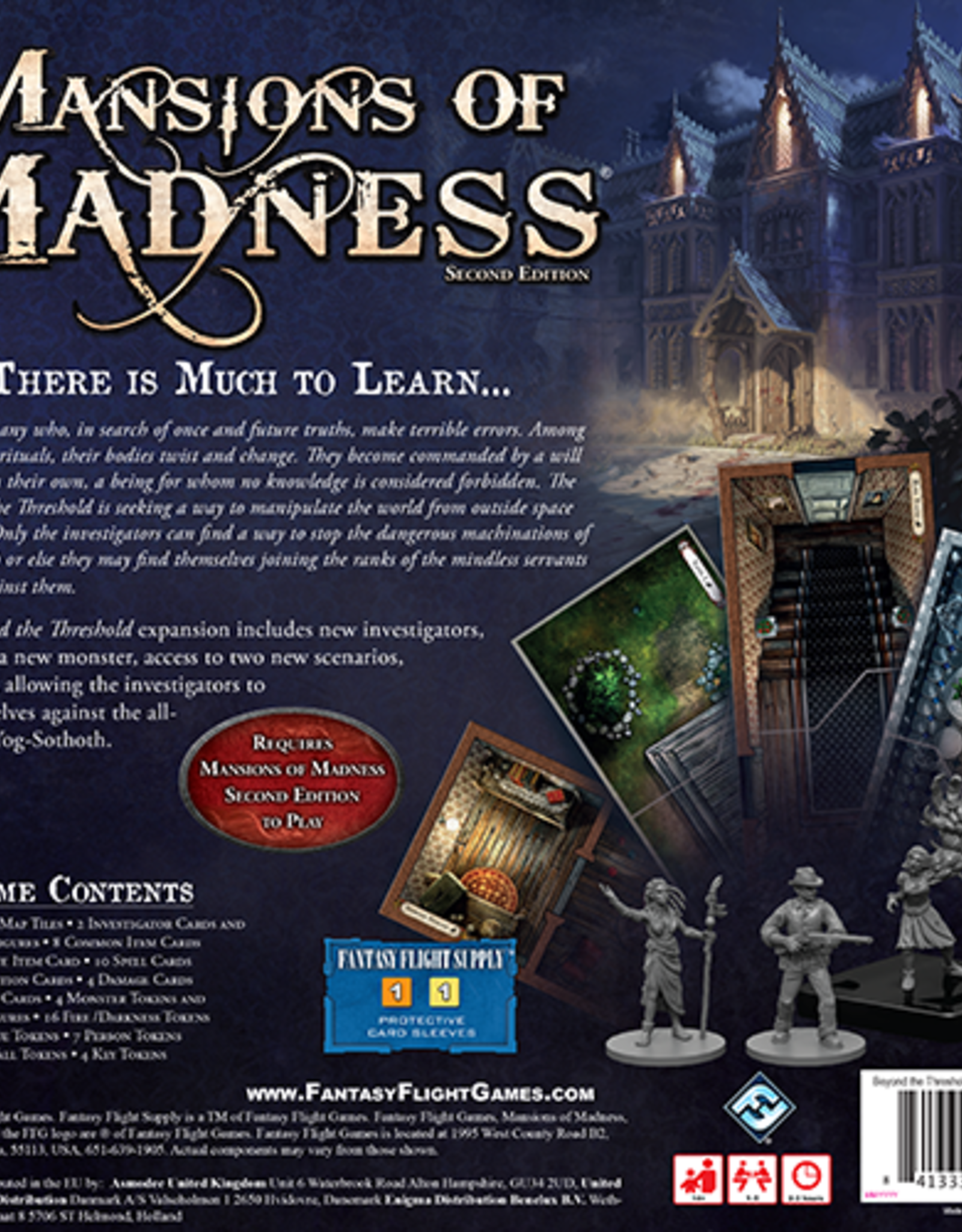 Fantasy Flight Games Mansions of Madness Beyond the Threshold Expansion