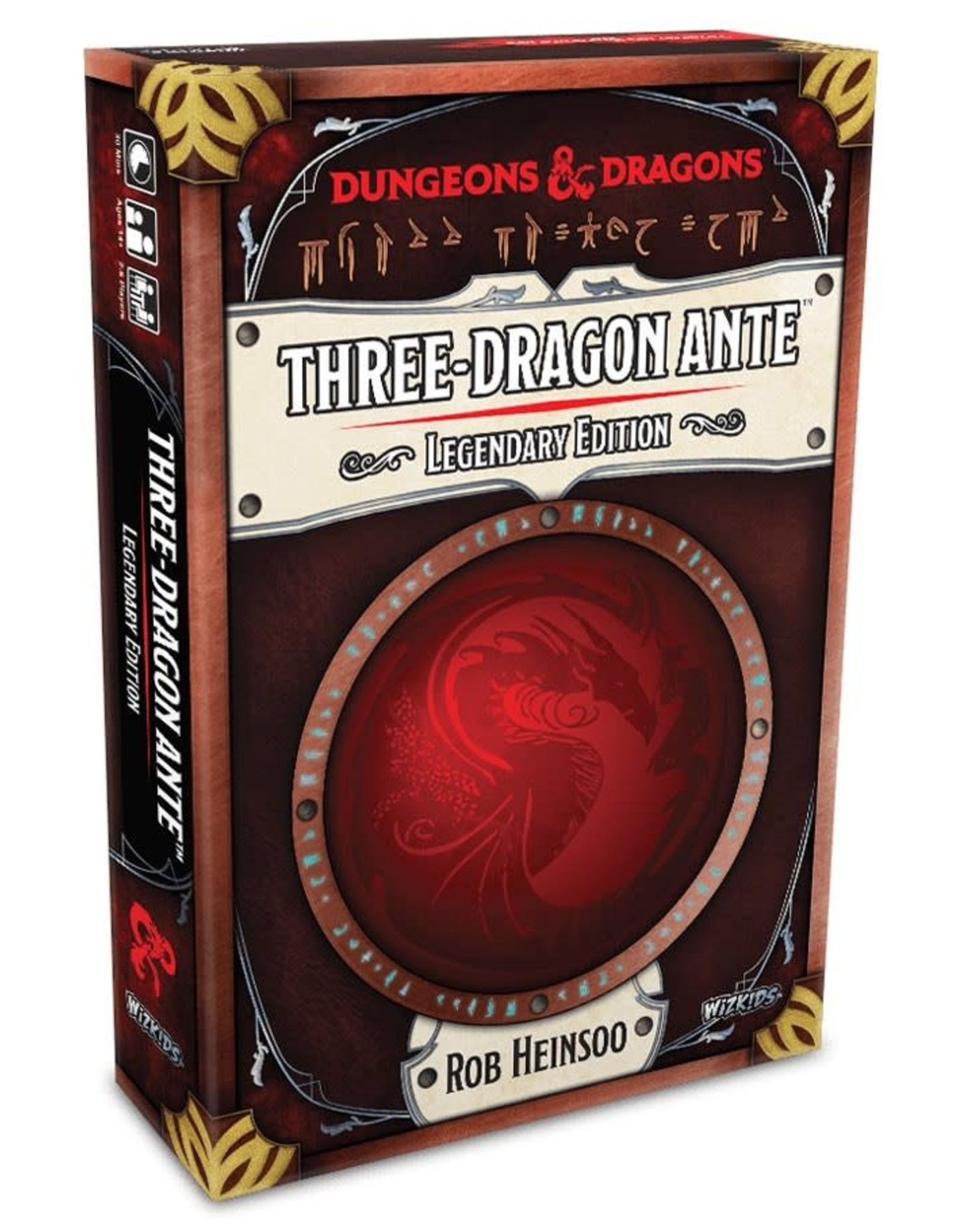 Wizkids D&D Three-Dragon Ante - Legendary Edition