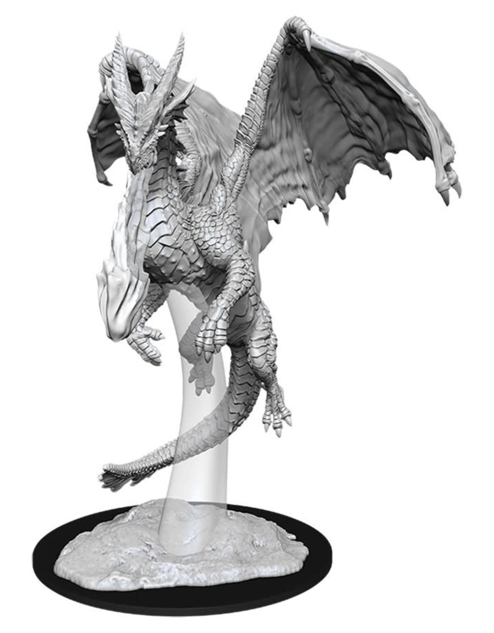 Wizkids D&D Nolzur's Unpainted Miniatures: Young Red Dragon