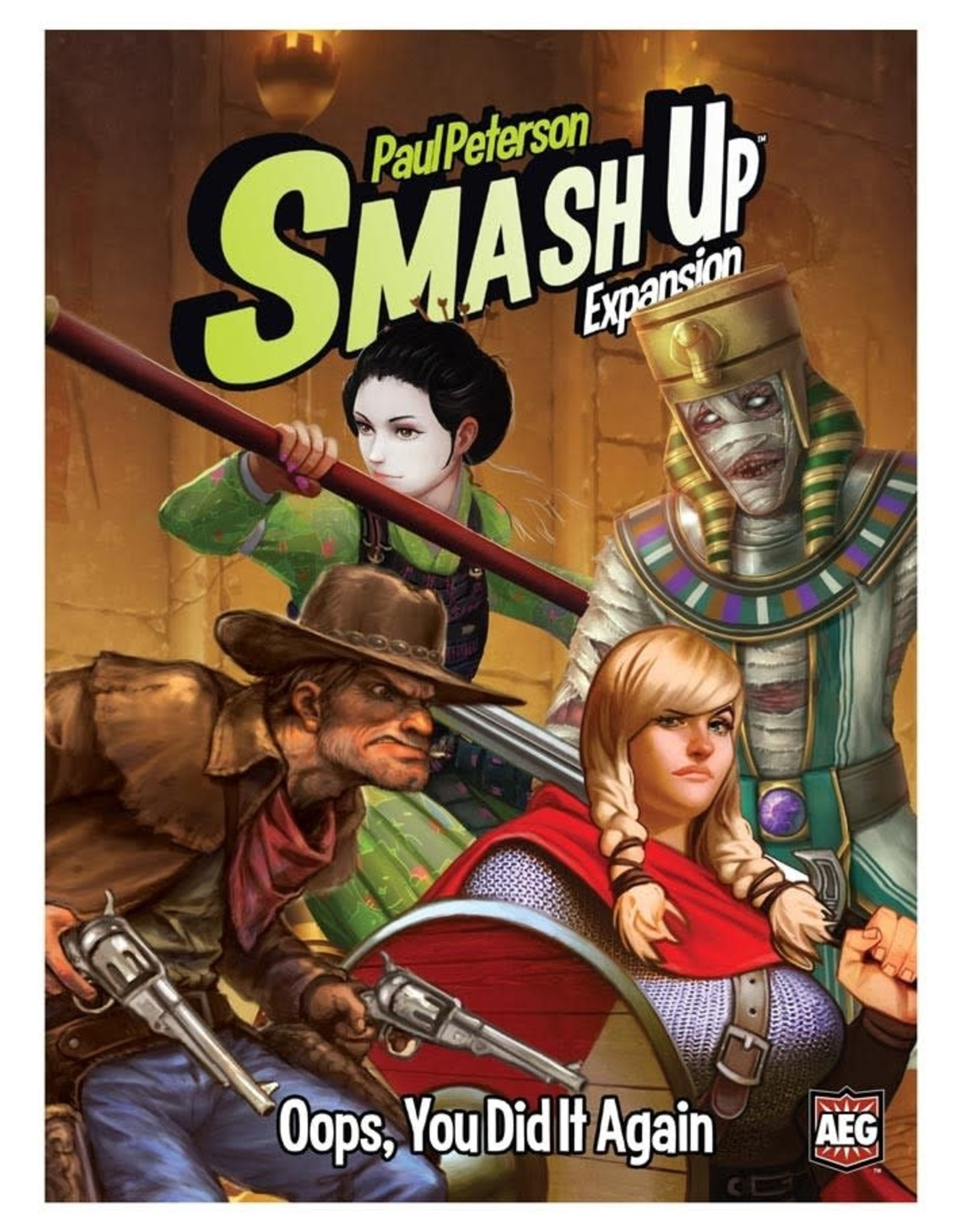 Alderac Smash Up: Oops You Did It Again Expansion