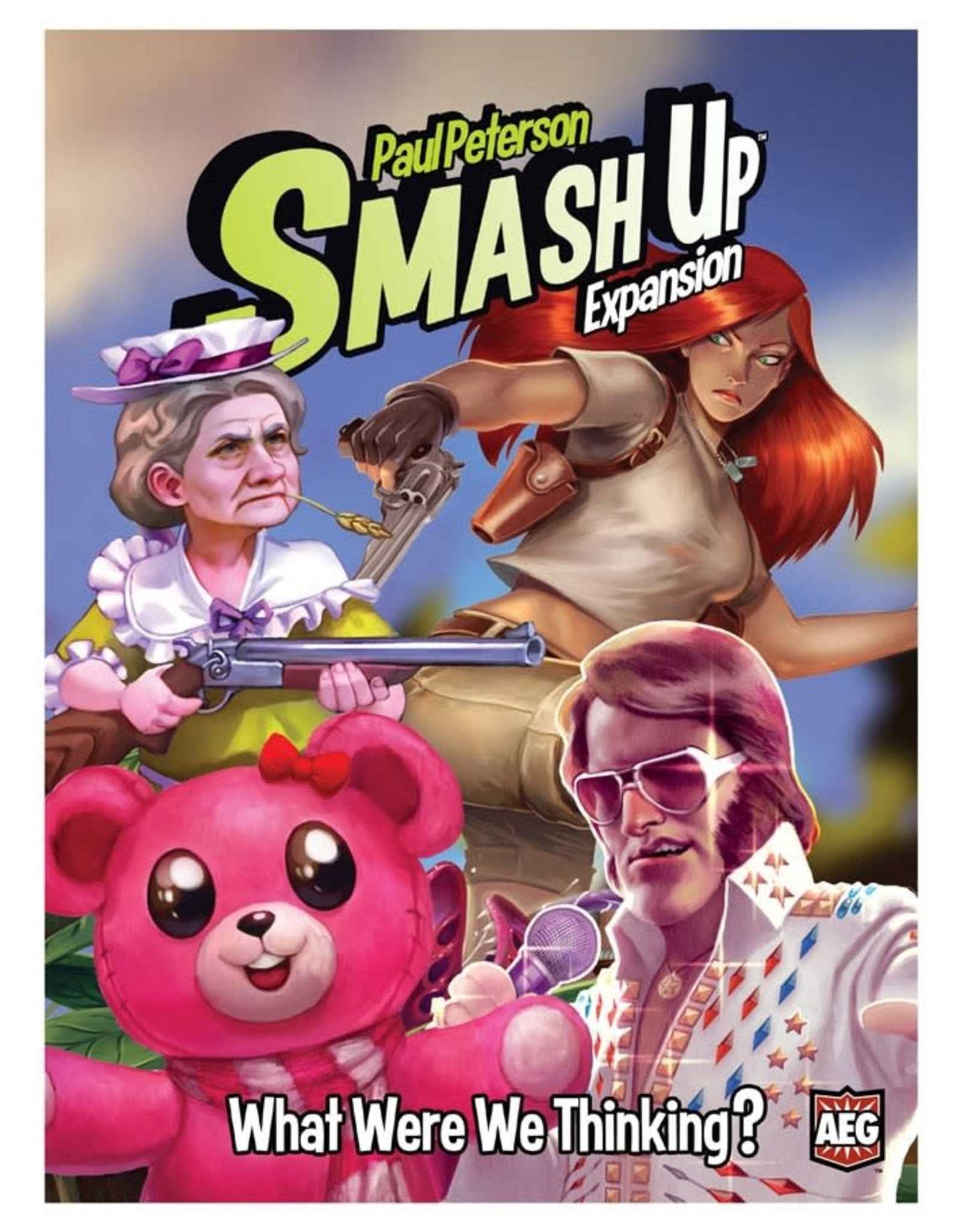 Alderac Smash Up: What Were We Thinking Expansion