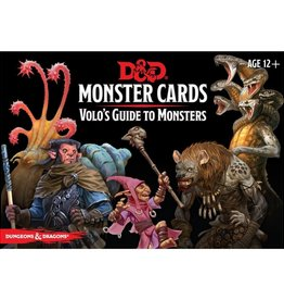 Gale Force 9 D&D RPG: Monster Cards - Volo's Guide to Monsters