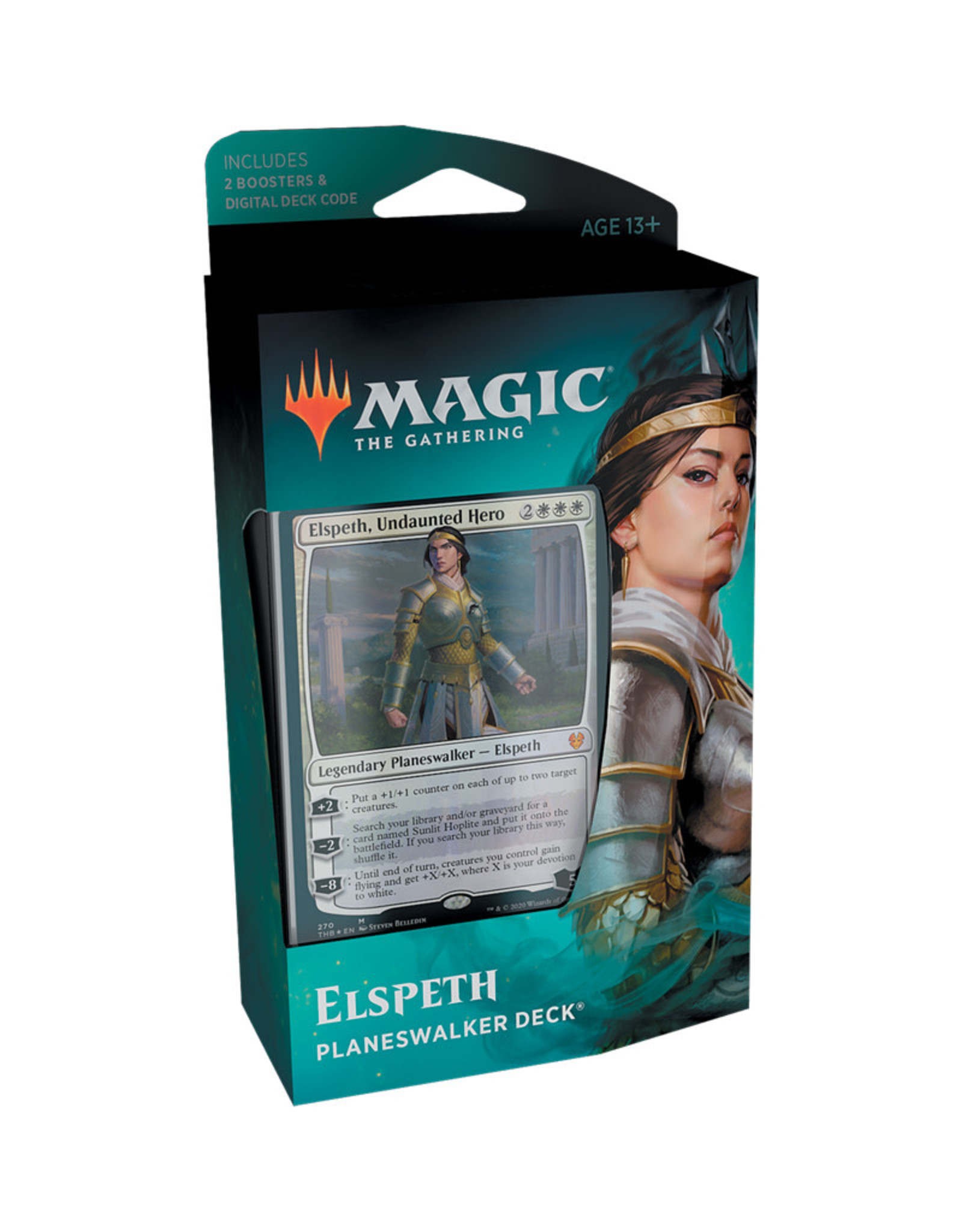 Wizards of the Coast MTG Theros Beyond Death Planeswalker Deck (Elspeth)