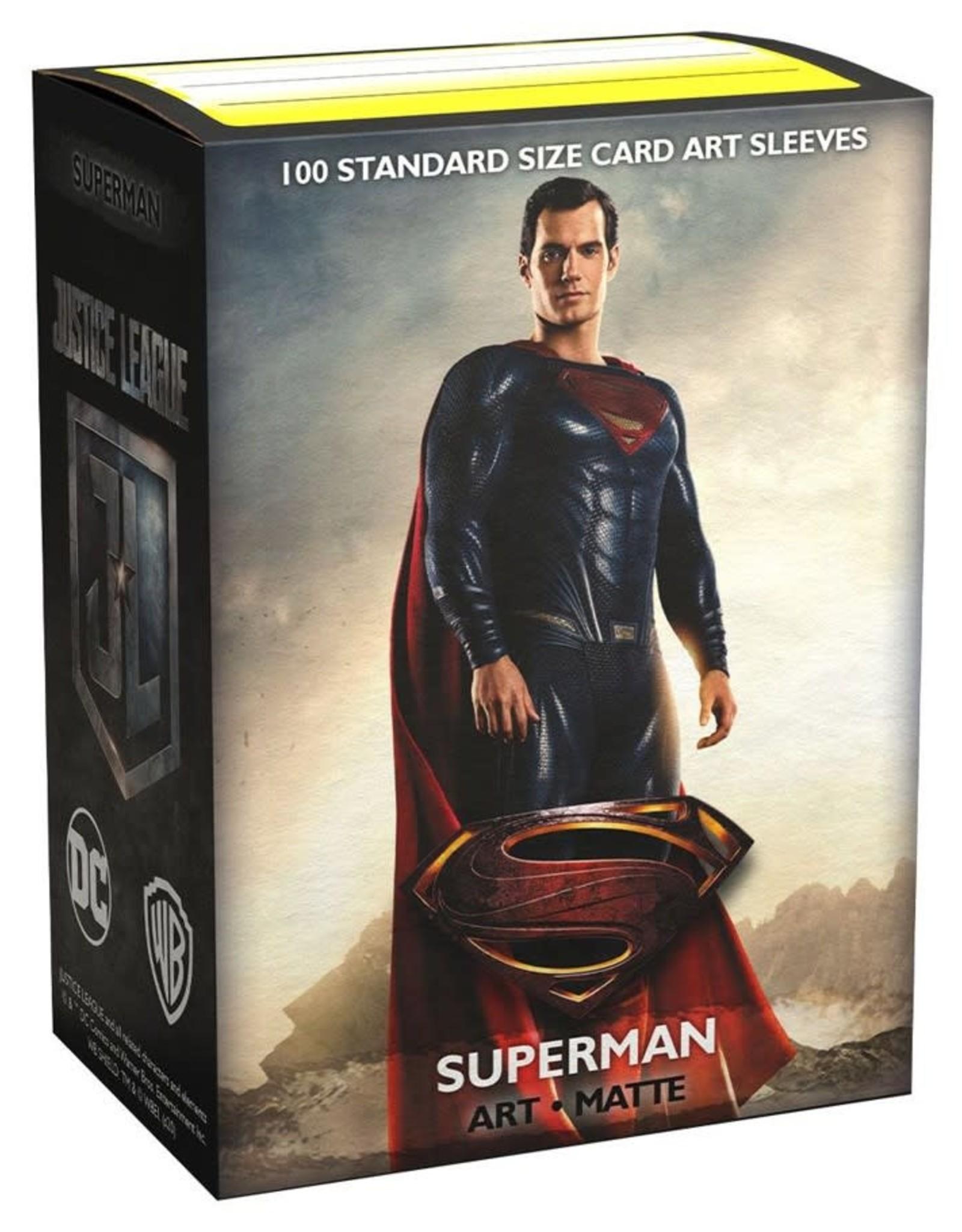 Arcane Tinmen Deck Protectors: Dragon Shield Matte Art Superman (100)