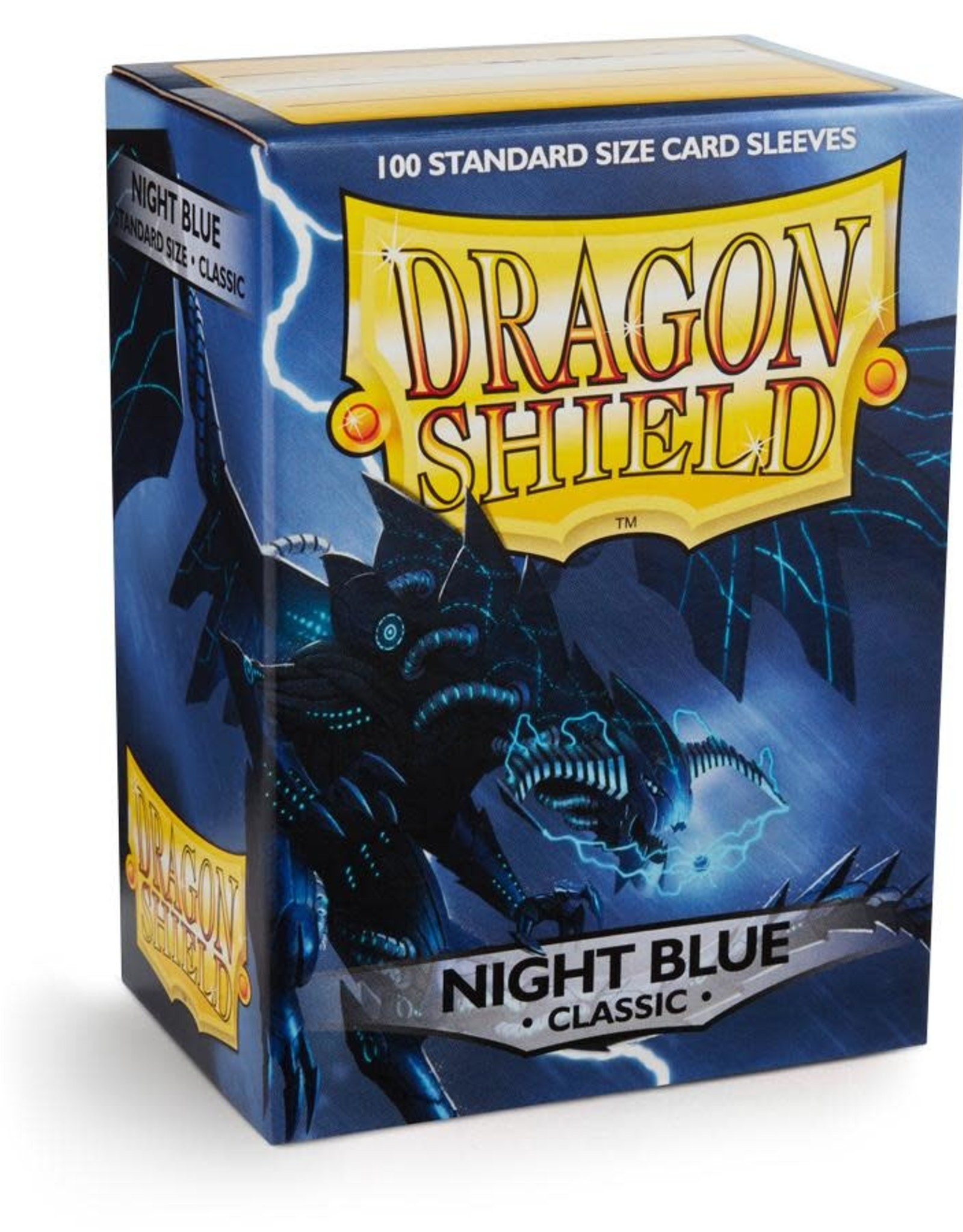 Arcane Tinmen Sleeves: Dragon Shield Classic (100) Night Blue