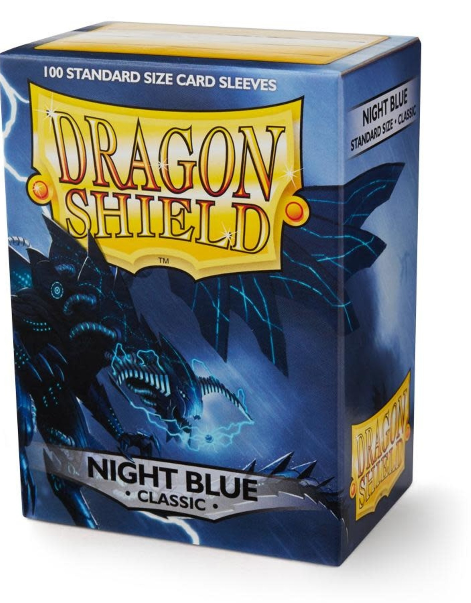 Arcane Tinmen Deck Protectors: Dragon Shield Classic (100) Night Blue