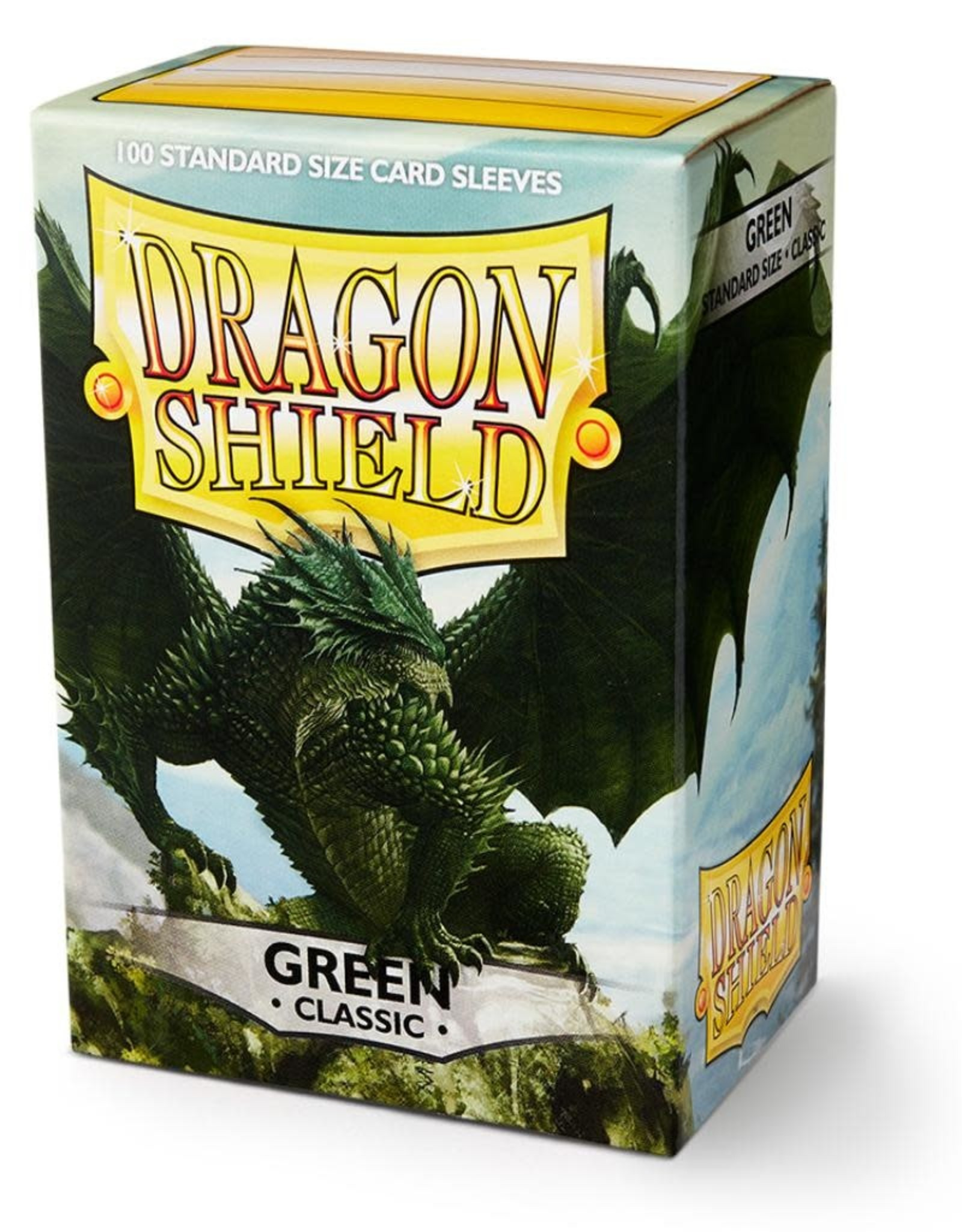 Arcane Tinmen Deck Protectors: Dragon Shield Classic (100) Green