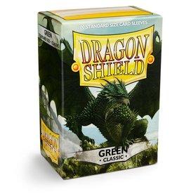 Arcane Tinmen Deck Protectors: Dragon Shield Classic (100) Green