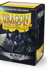 Arcane Tinmen Sleeves: Dragon Shield Classic (100) Black