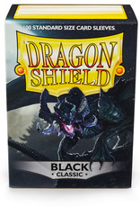 Arcane Tinmen Deck Protectors: Dragon Shield Classic (100) Black