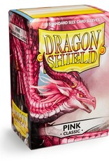 Arcane Tinmen Sleeves: Dragon Shield Classic (100) Pink