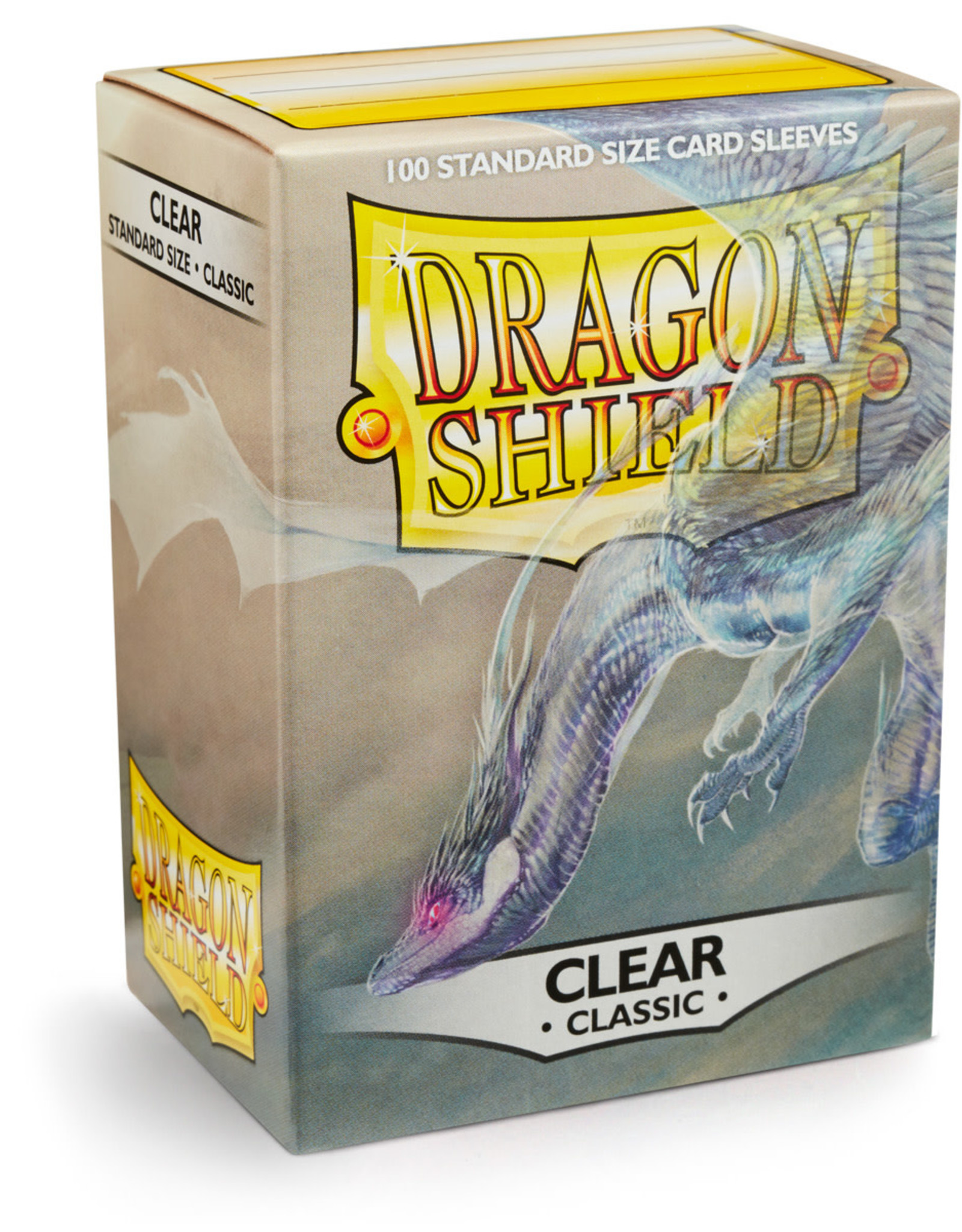Arcane Tinmen Sleeves: Dragon Shield Classic (100) Clear