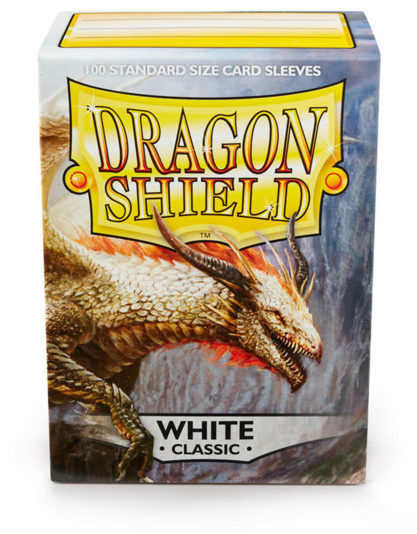 Arcane Tinmen Deck Protectors: Dragon Shield Classic (100) White