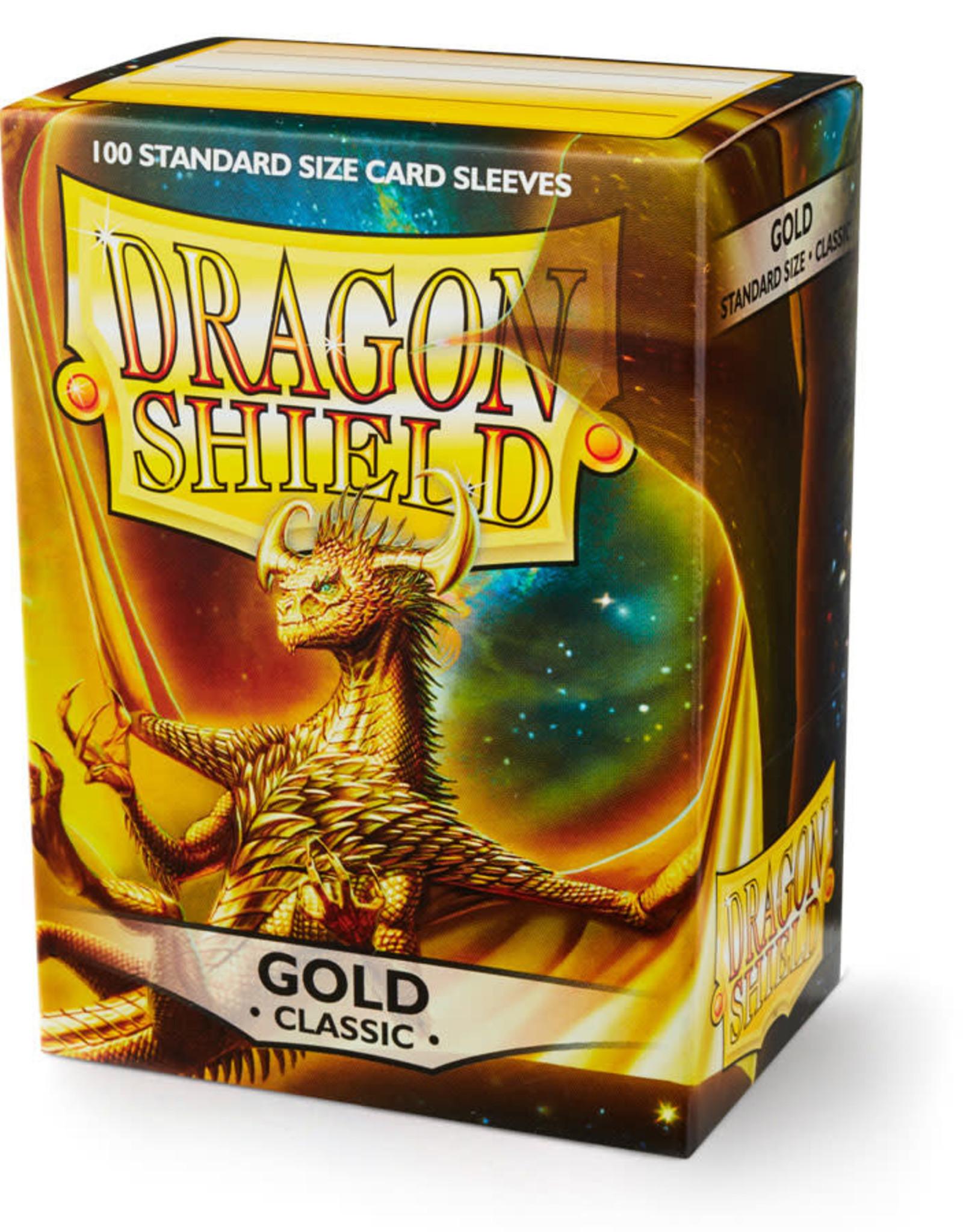 Arcane Tinmen Deck Protectors: Dragon Shield Classic (100) Gold