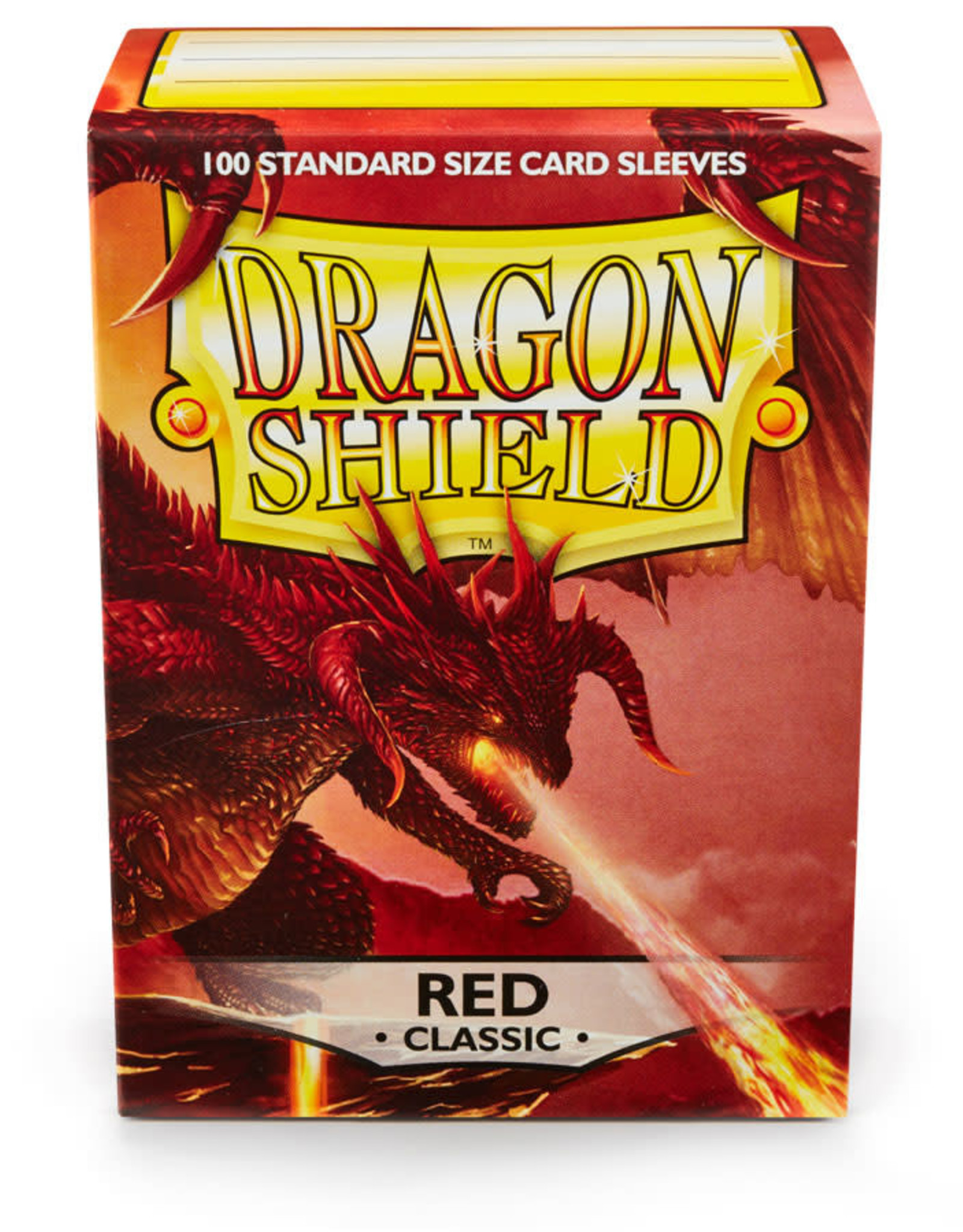 Arcane Tinmen Sleeves: Dragon Shield Classic (100) Red