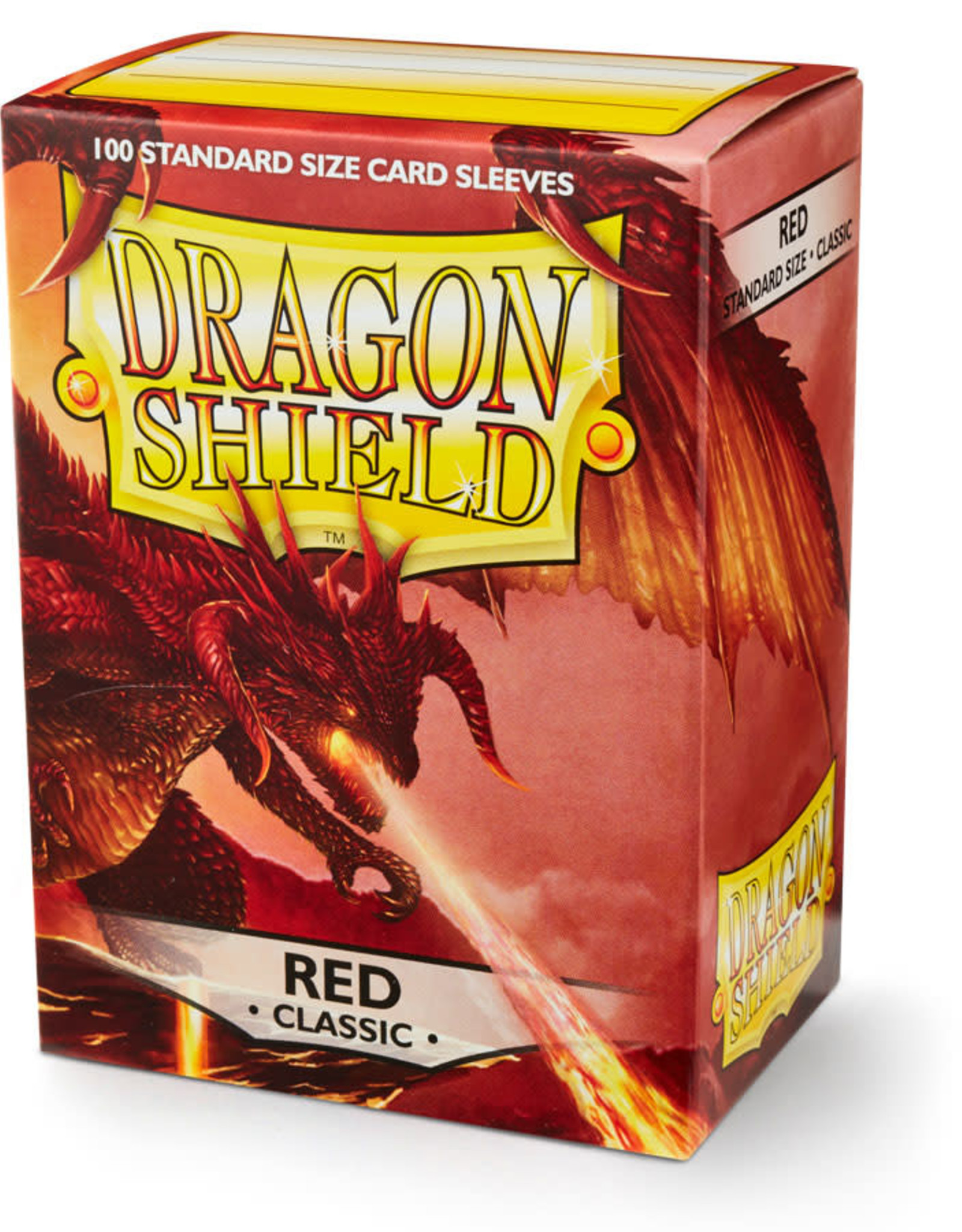 Arcane Tinmen Deck Protectors: Dragon Shield Classic (100) Red
