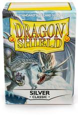 Arcane Tinmen Deck Protectors: Dragon Shield Classic (100) Silver