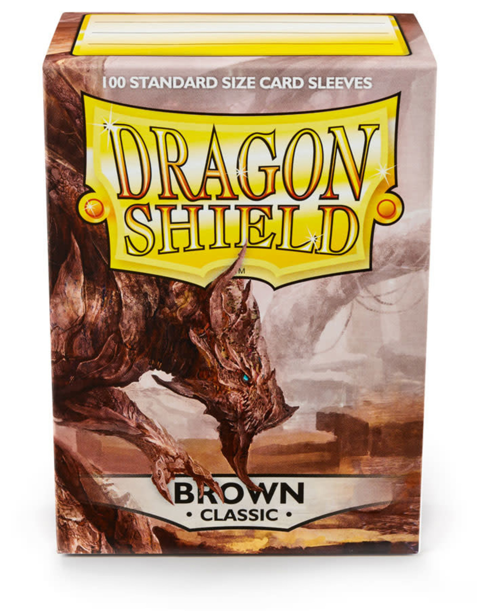 Arcane Tinmen Sleeves: Dragon Shield Classic (100) Brown