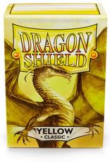 Arcane Tinmen Sleeves: Dragon Shield Classic (100) Yellow