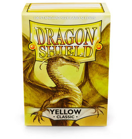 Arcane Tinmen Deck Protectors: Dragon Shield Classic (100) Yellow