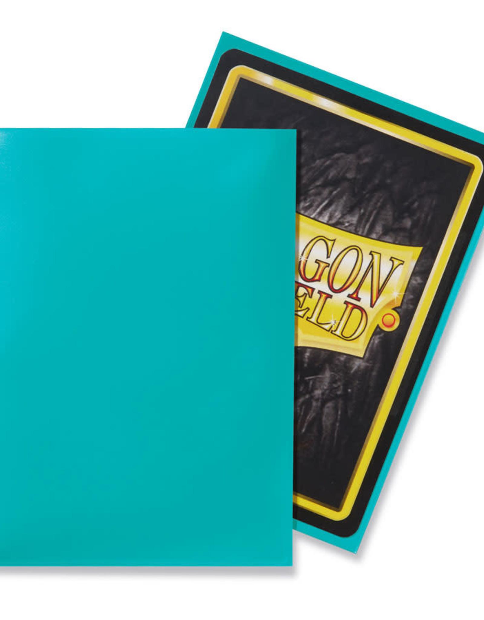 Arcane Tinmen Deck Protectors: Dragon Shield Classic (100) Turquoise
