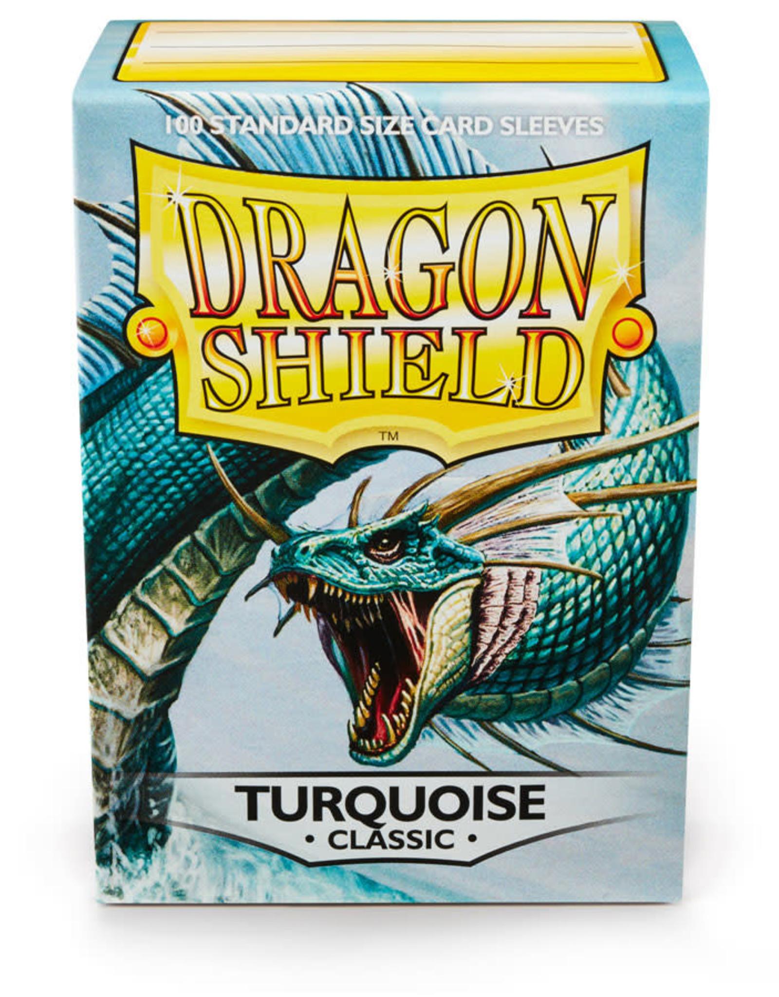 Arcane Tinmen Sleeves: Dragon Shield Classic (100) Turquoise