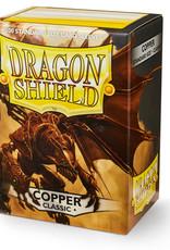 Arcane Tinmen Deck Protectors: Dragon Shield Classic (100) Copper