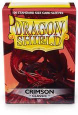 Arcane Tinmen Sleeves: Dragon Shield Classic (100) Crimson