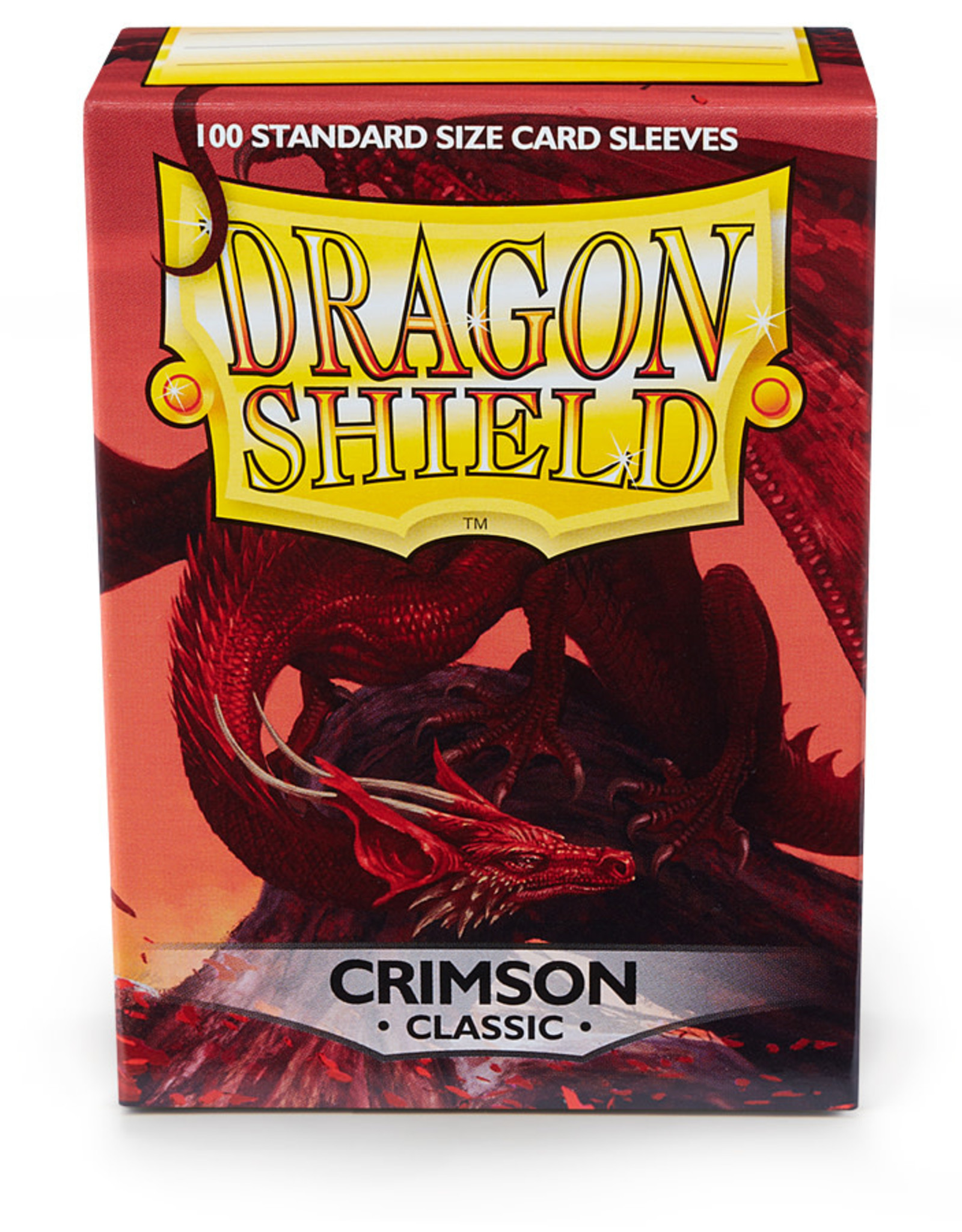 Arcane Tinmen Deck Protectors: Dragon Shield Classic (100) Crimson