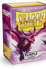 Arcane Tinmen Deck Protectors: Dragon Shield Classic (100) Purple