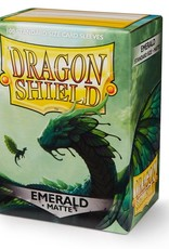 Arcane Tinmen Deck Protectors: Dragon Shield Matte (100) Emerald