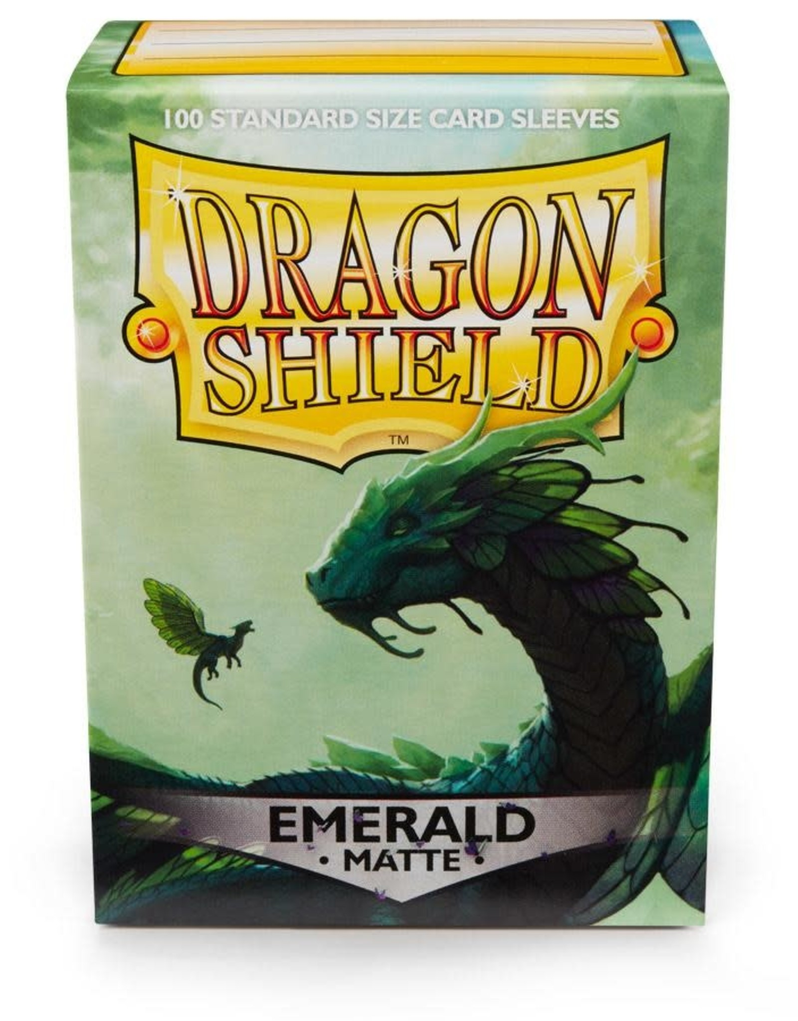 Arcane Tinmen Sleeves: Dragon Shield Matte (100) Emerald