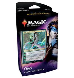 Wizards of the Coast MTG Throne of Eldraine Planeswalker Deck - Oko, the Trickster