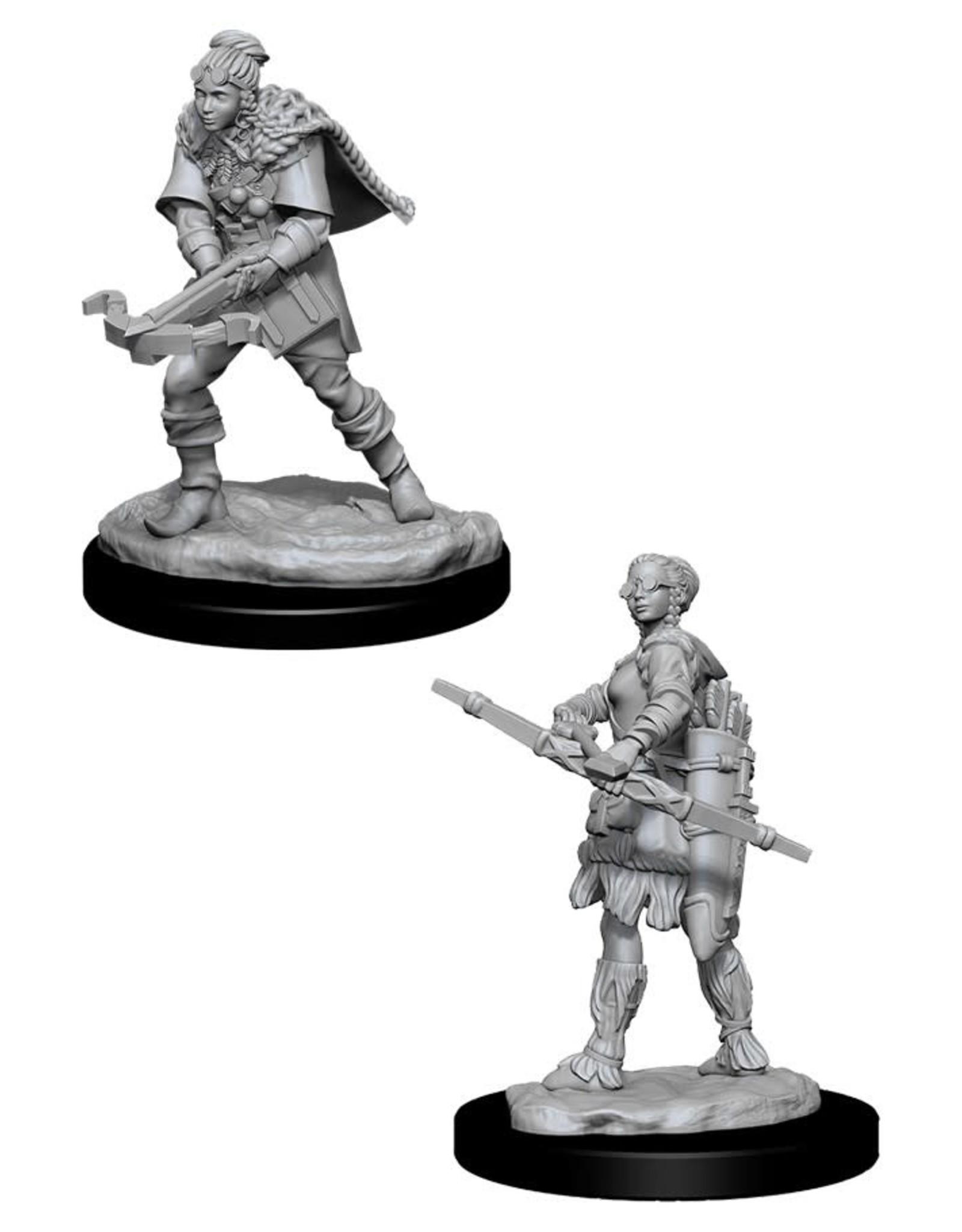 Wizkids D&D Unpainted Minis: Human Ranger Female