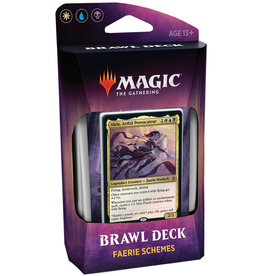 Wizards of the Coast MTG Throne of Eldraine Brawl Deck (Faerie Schemes)